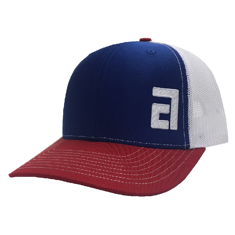 Adam Craig Red, White and Blue Ballcap